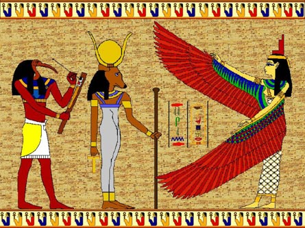 ancient Egyptian motif