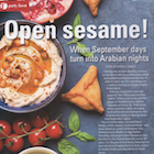 Open Sesame! When September days turn into Arabian nights