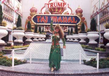 Trump Taj Mahal postcard photo